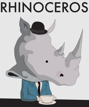 commitment to free will in eugene ionescos rhinoceros Rhinoceros is a captivating, critically acclaimed commentary on what is absurd about human nature like the abstract artists of the early 20th century, ionesco abstracts reality to comedic and terrifying effect his unusual language, stylized structure, and grand symbolism define the writer's place.