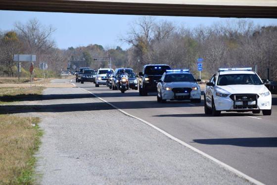 Npso Assists West Baton Rouge Parish Sheriff S Deputies With Funeral Escort Natchitoches Parish Journal