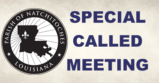 Parish Council: Special Called Meeting Aug. 27 ...